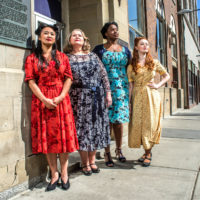 Waiting for the Parade - Alberta Theatre Projects 2016 Cast